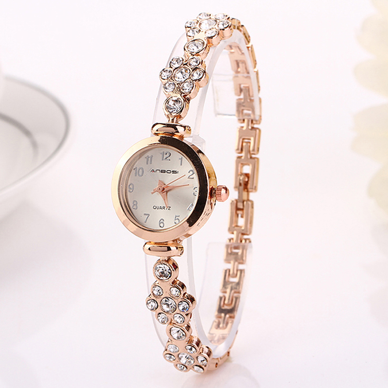 2016 High Quality Wholesale China Market Single Hand Minimal Watch Design With Crystal Diamond