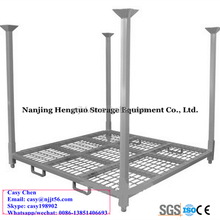 Metal Tire Pallet Warehous Storage Racks/Warehouse Heavy Duty Steel Pallet