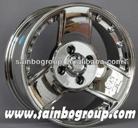Hyper Silver With Chrome Spoke Alloy Wheels