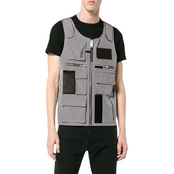 OEM custom new products 2018 tactical Sleeveless multi pocket vest