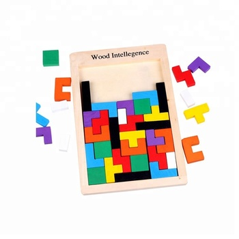 Wooden Pentominoes Puzzle