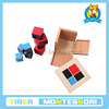 Binomial Cube.montessori.montessori materials in china.montessori wooden toys.educational toy.educational toy kids.