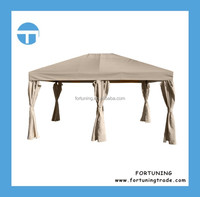 Competitive price professional steel garden metal top gazebo
