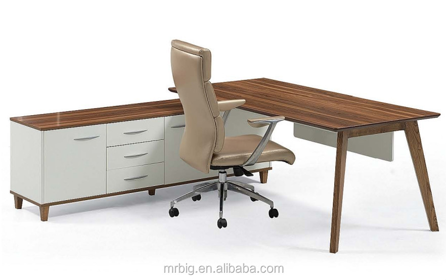Elegant Melamine Table, Office Table, Office Furniture M08 E20B