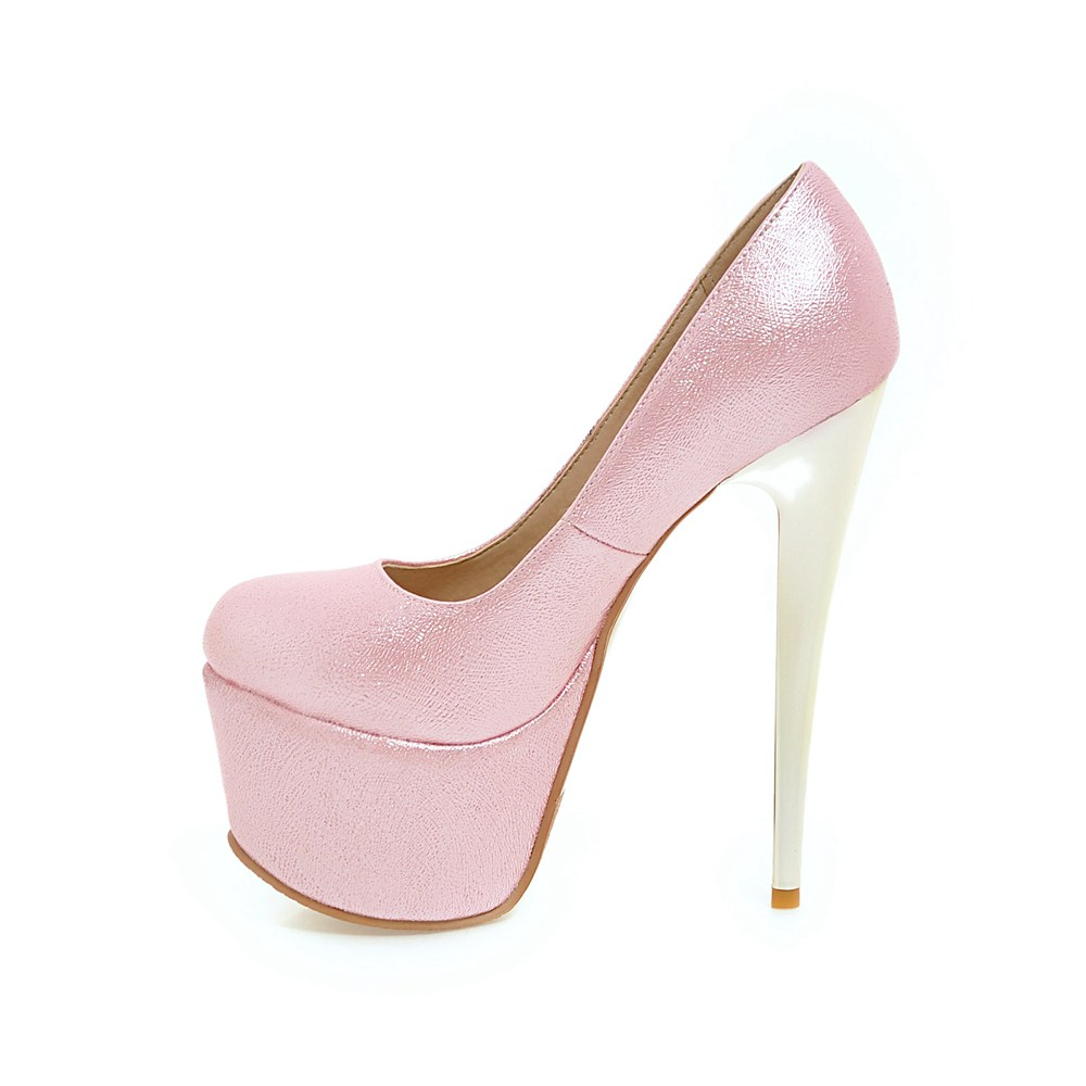 Sexy Pink High Heel Shoes Wholesale df7cde1ab7db