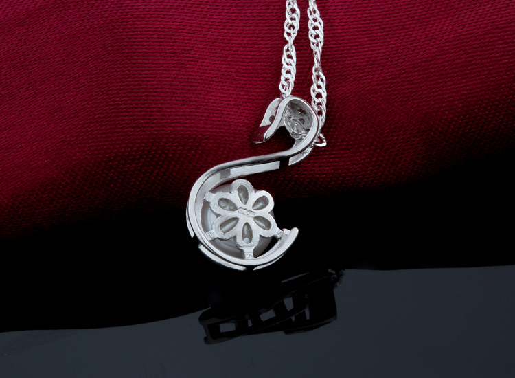 Seashell Pearl Pendant With 925 Sterling Silver Wholesale Jewelry Lots