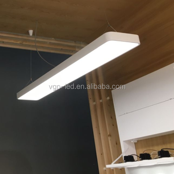 Led Linear Light Fixture 4ft 1.2m 40w 50w Indoor Wall Led Recessed ...