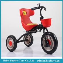 2017 Metal foldable children tricycle with 3 wheels