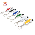 Mobile phone keychain touch screen stylus metal pen small mini car shape pen