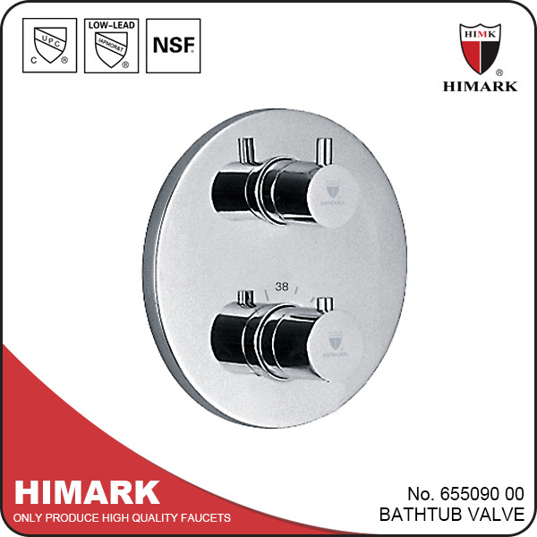 3-Function concealed thermostatic UPC shower valve