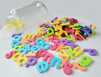 eva magnetic letters alphabet fridge magnet educational learn foam words school