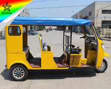 China Manufacturer Import Used Rickshaw 3 Wheel Electric Tricycle With Passenger Seats