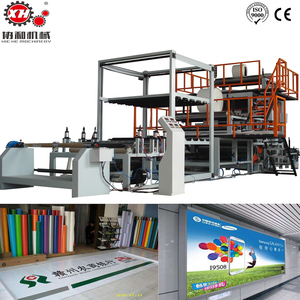 pvc banner material pvc flex banner production line since 1986