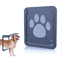Wrcibo Dog Screen Door Auto Pet Door Locking Magnetic Cat Door Indoor/Outdoor