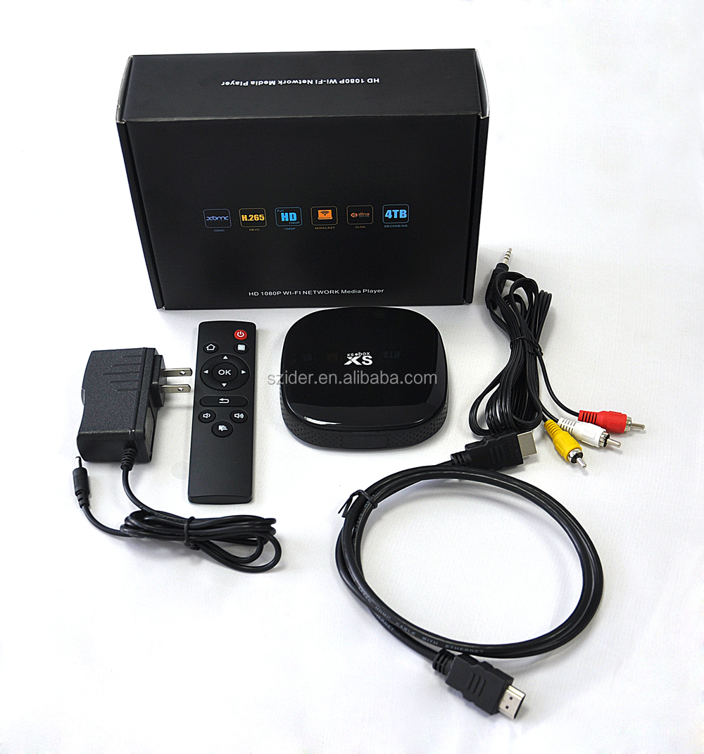 Shenzhen ider tech hdmi adaptor certified hot selling Amlogic S805 Android network tv box xbmc miracast wireless antenna