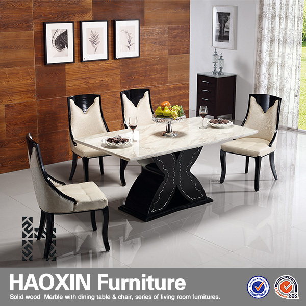 Luxury 8 People Marble Dining Table Set - Buy Marble Top Dining ...