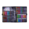Promo wholesale school kids drawing art 168 kids stationery sets