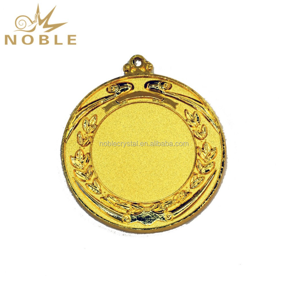 Blank Custom LOGO Cheap Gold Medals and Trophies China