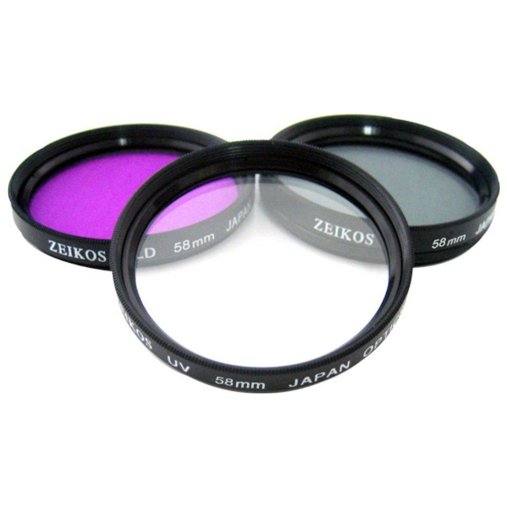 HDFX Limited Edition High Definition 37mm Multi Coated Pure Glass 3 Piece Filter Kit (UV, CPL, FL) for the Sony HDR-CX550V, HDR-HC9, HDR-XR550V, HVR-HD1000U, HVR-A1U, HXR-MC2000U, HXR-MC50U Handycam Camcorders