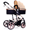 Easy go Four Wheels high view custom 3 in 1 baby stroller