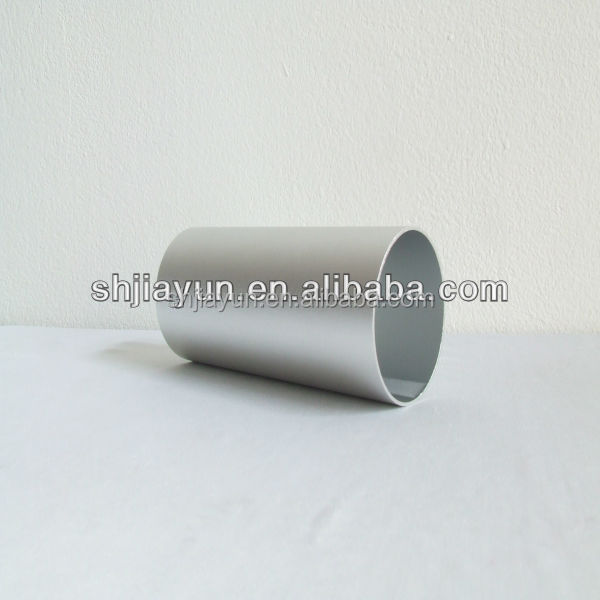 6063-T5 brushed aluminum tube from Shanghai Jiayun Aluminium