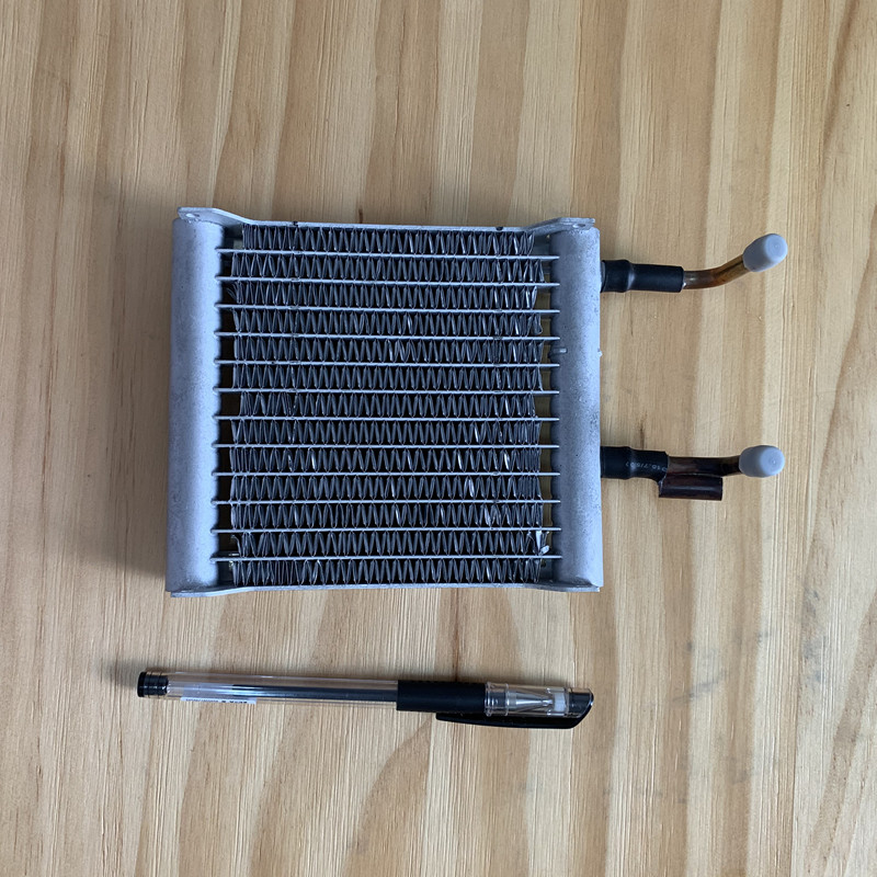 High quality Refrigeration parts smallest  air  cooled  condenser for mini fridge