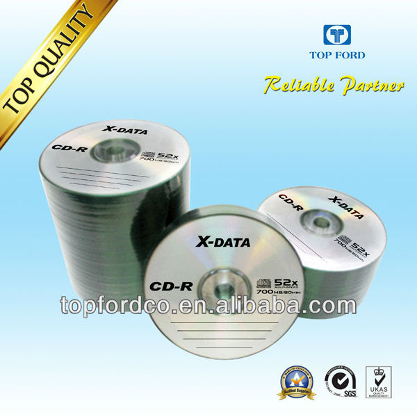 Optical Disk Blank CD 700MB 52X with Wholesale Price