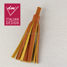 High quality decorative brown designer leather tassel