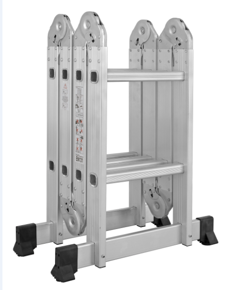 Super transformer aluminium step multi-purpose ladder