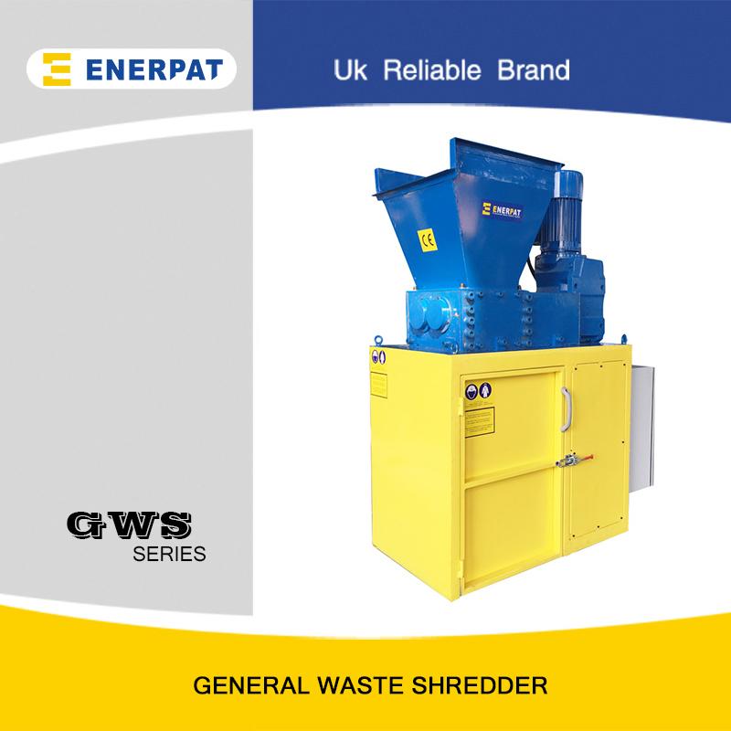 waste shredder machine