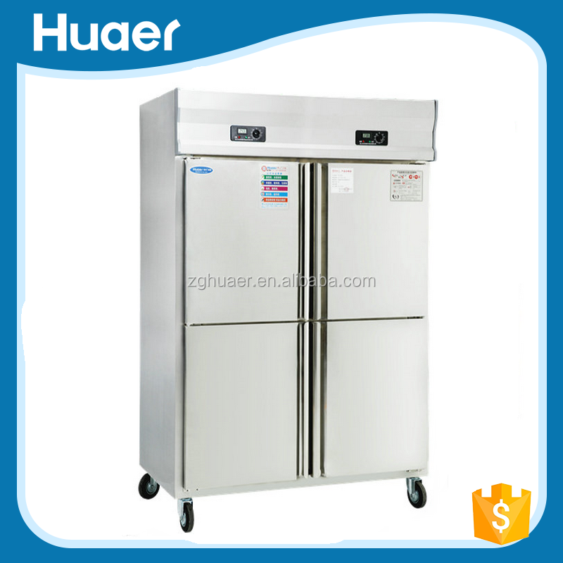 Heavy Duty Commercial Hotel Soft Drink Double Door Refrigerator