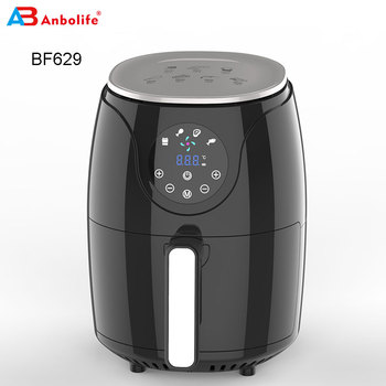 3.7Qt Electric Hot fryer Oven Oilless Cooker with Detachable Nonstick Basket LCD Touch Screen Dishwasher air fryer