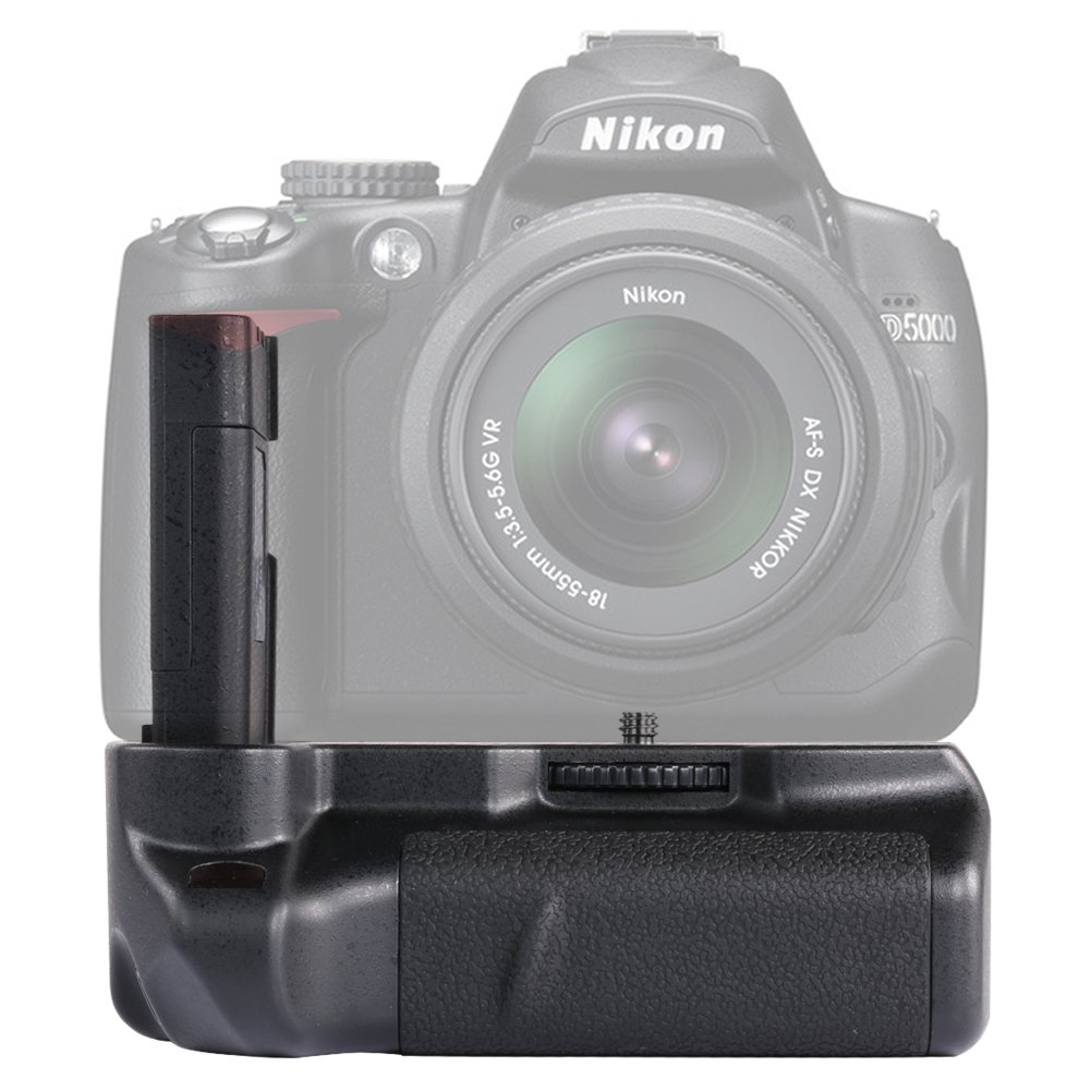 Neewer Vertical Battery Grip Works with EN-EL9/EN-EL9A Lithium Batteries for Nikon D40/D40x/D60/D3000 DSLR Cameras