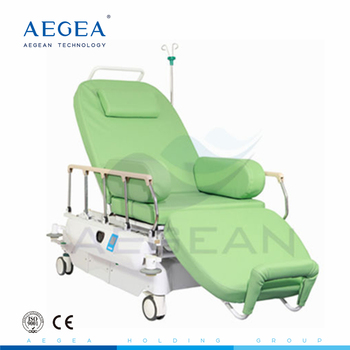 AG-XD207 electric 3 motors movements medical physical phlebotomy chair for blood draw