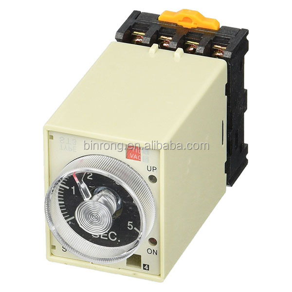 ST3PF Power Off Delay Timer Time Relay 0-60 Second w Base Socket