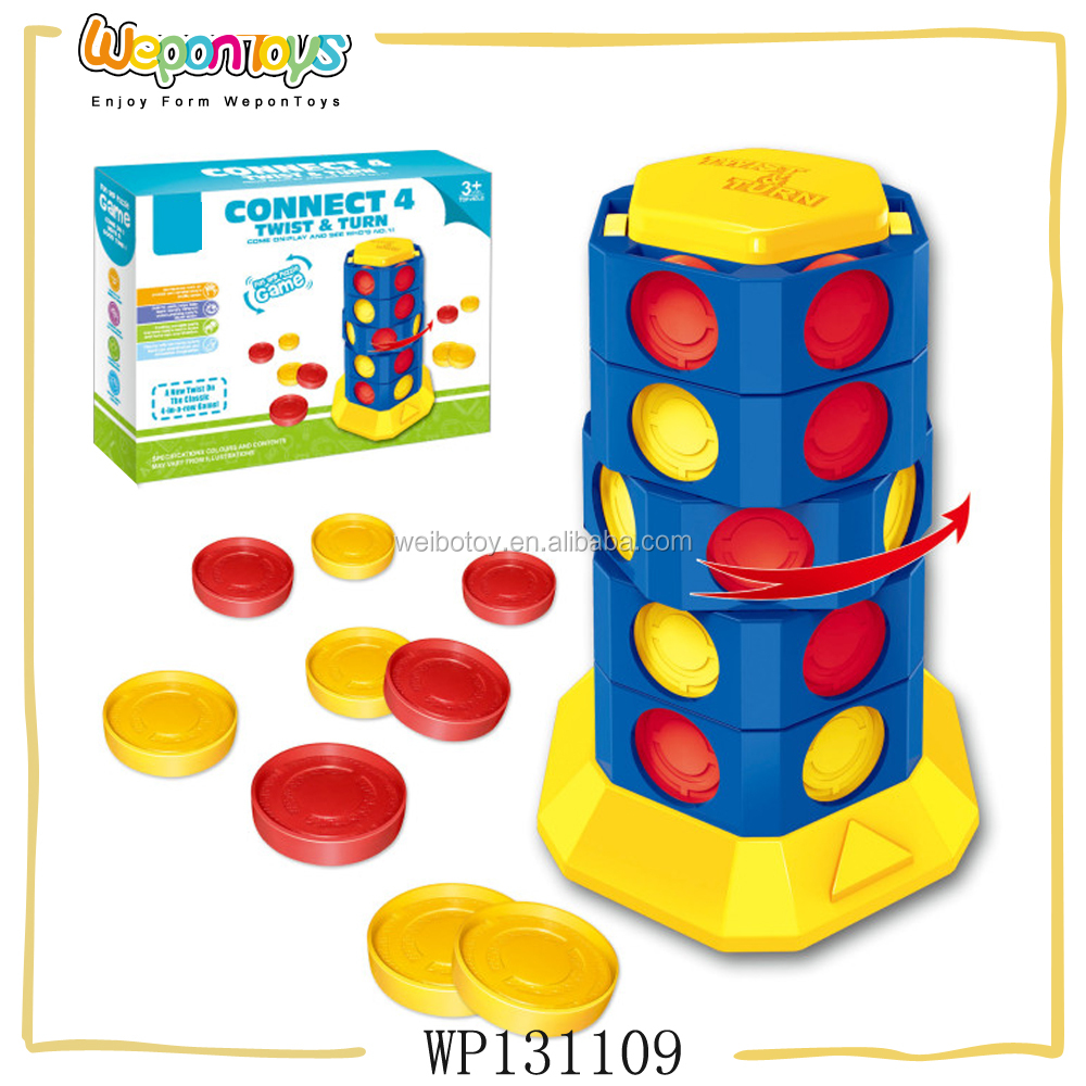 intellectual solid connect four game fun adult board games for promotion