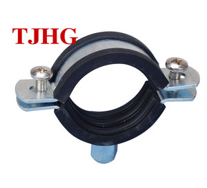 Factory Price wholesale stainless steel Heavy Duty Pipe Clamp