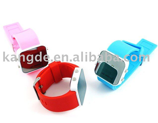 fashion LED silicone watch