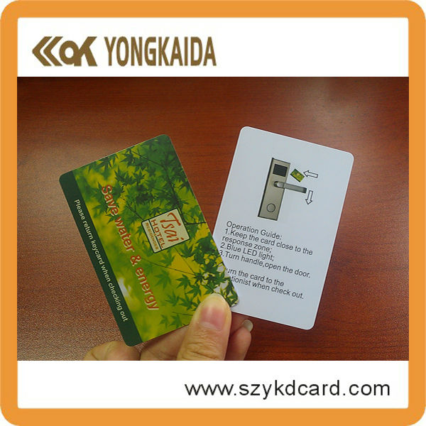 Programmable rfid t5577 card with factory price and free samples