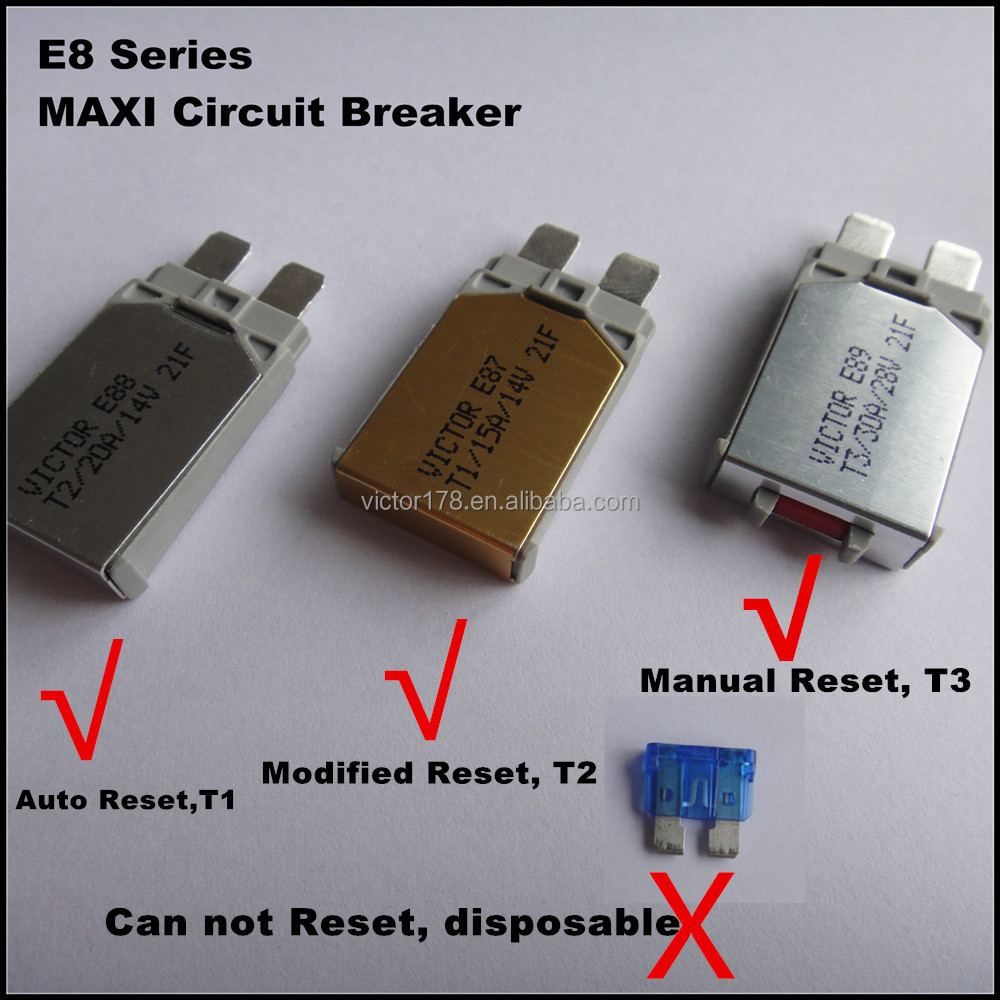 Automotive Fuse5 Amp Resetable Fuse Buy Fuseresetable Circuit Breakers Stud Mount Auto Reset 5