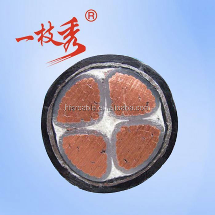 Electric power bare copper stranded high voltage cable joint 8.7/10KV