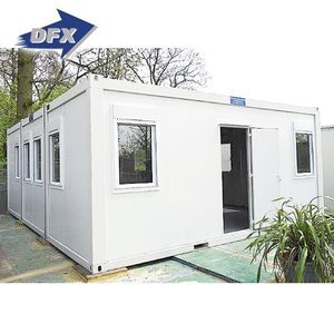 Cheap Price China Prefabricated 40Ft Luxury Expandable Container House For Sale
