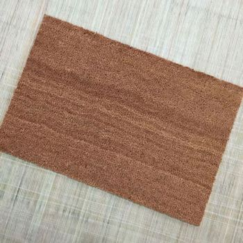 Diy Coconut Fiber Blank Plain Coir Coco Door Floor Mats