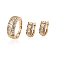 64674 Xuping 18k gold plated fashion new design women jewelry set