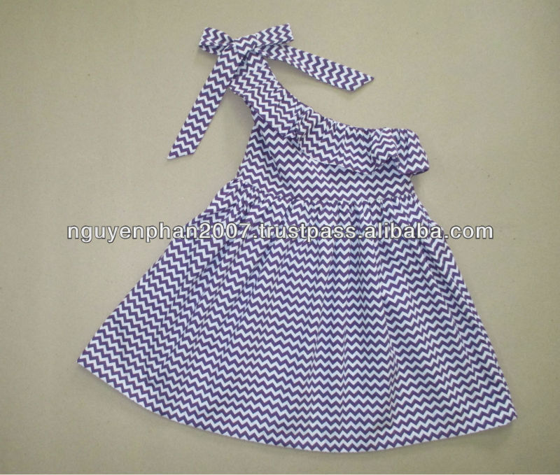 Chevron baby dress for Summer 2014 infant toddler