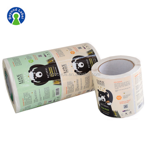Custom labels for bottles paper label printing sticker sheets shampoo and Conditioner waterproof labels