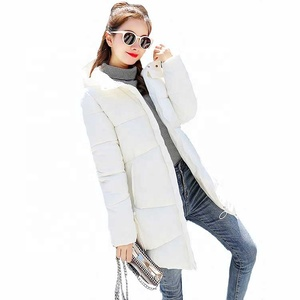 Korean woman coat long winter outwear long warm thicke down parkas fashion slim women jacket winter hooded solid winter coat