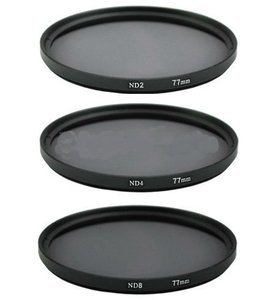 49mm Neutral Density Filter Lens Set Kit ND2 ND4 ND8 ND 2 4 8