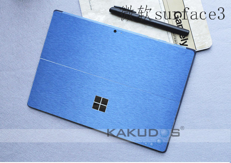 Carbon Fiber Laptop Skin Cover For Microsoft Surface Pro 5