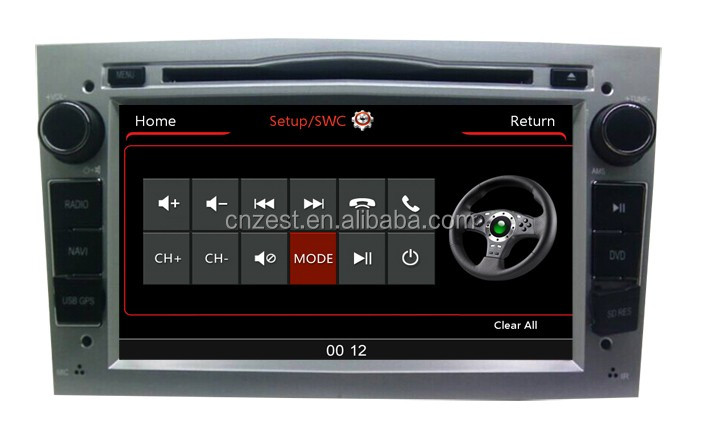 2 din GPS car Multimedia player per Opel Astra h Vectra corsa Zafira autoradio con sistema di navigazione audio BT TV 3G DVD Video